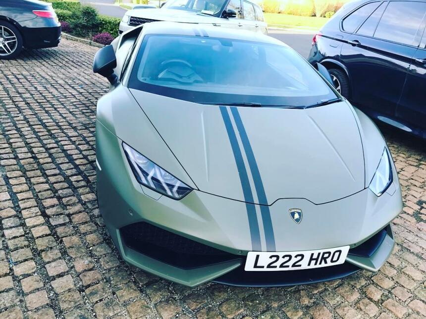 Una de las últimas adquisiciones de Conor McGregor fue un Lamborghini Hu...