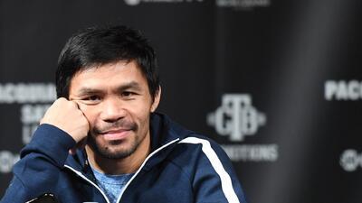 Los 40 años, el otro rival al que tendrá que vencer Manny Pacquiao en el cuadrilátero