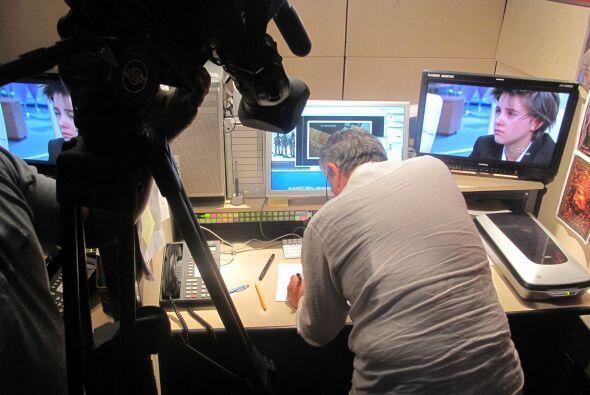 El trabajo de recrear esos momentos claves del operativo fue filmado por...