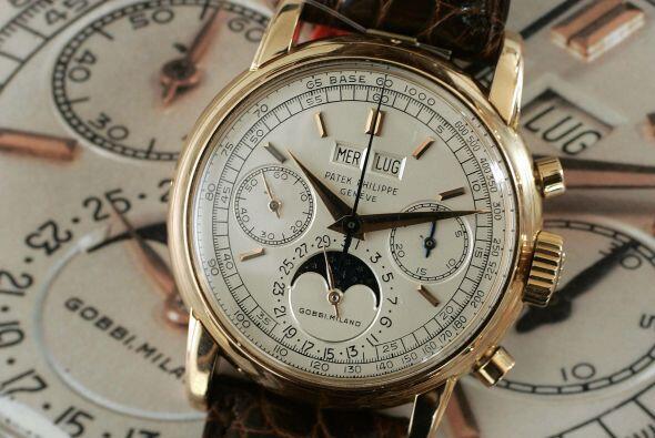 RELOJERÍA/ PATEK PHILIPPE- En cuestión de relojería, esta empresa suiza...