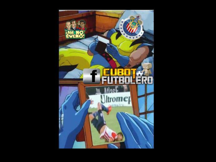 Los memes del empate de Chivas vs. Veracruz