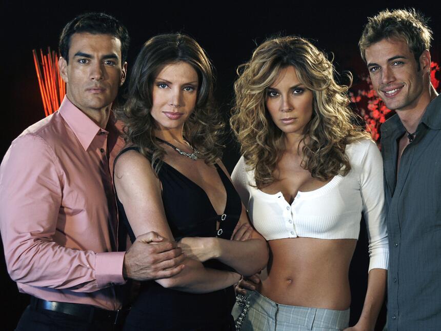 William Levy y Bárbara Mori en telenovela de Carla Estrada