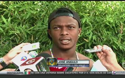 """José Angulo: """"Es lindo ser goleador del equipo"""""""