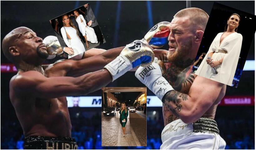 famosas en pelea de box