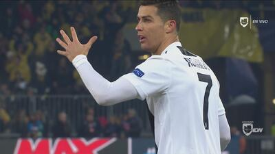 Dybala empata al Young Boys al 92' pero se lo anularon por culpa de Cristiano Ronaldo