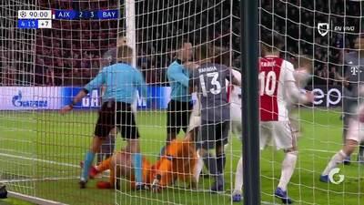 ¡GOOOL! Niklas Süle anota para FC Bayern München