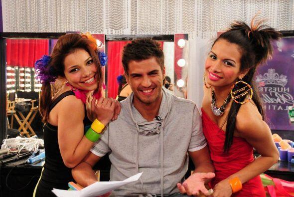 Marina y Marisela improvisaron con Maxi una escena debido a que su reto...