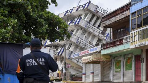 México un día después del terremoto del 7 de septie...