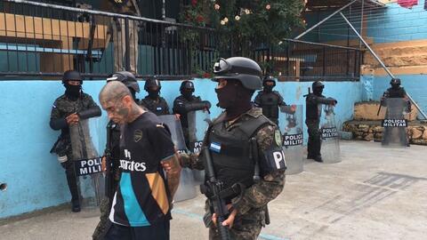 Tras la fuga, este martes las fuerzas de seguridad iniciaron el traslado...