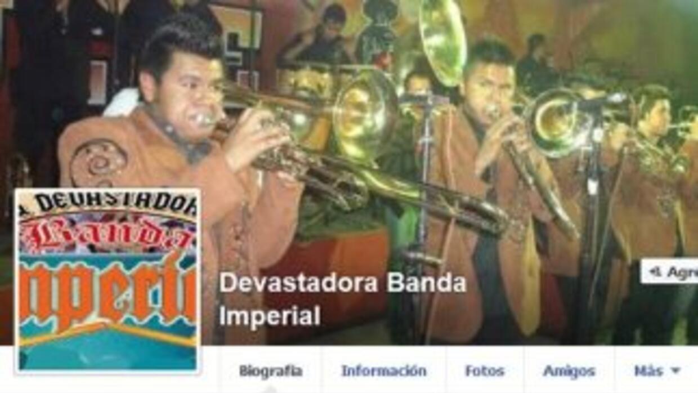 Perfil de Facebook de La Devastadora Banda Imperial.