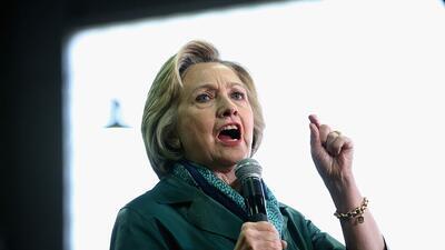 Hillary Clinton, abril 24, 2016.