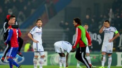 A falta de tres minutos para el final del juego, los suizos dejaron más...