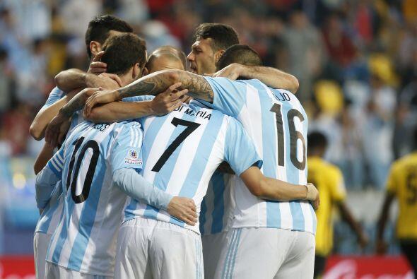 La anotación de Argentina le valió el triunfo pero le costó muchisimo sa...