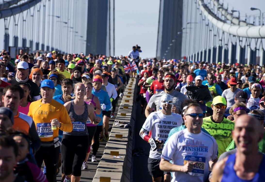 Maratón de Nueva York, entre el color y la competencia AP_16311626833374...