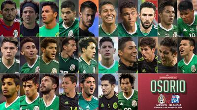 Juan Carlos Osorio llamó a 28 elementos para los duelos de Fecha FIFA.