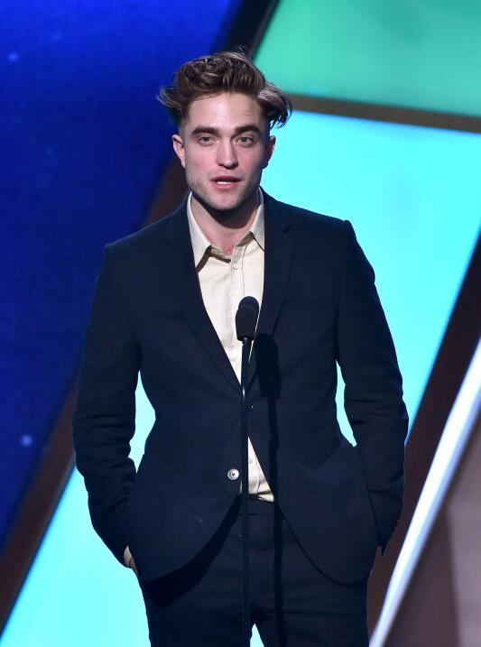 Actor Robert Pattinson speaks onstage during the 18th Annual Hollywood F...