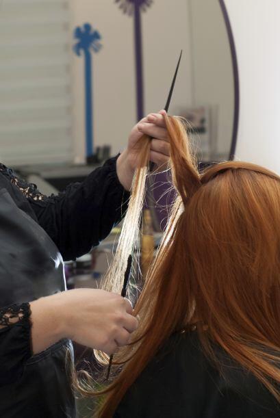 En cuanto a los cortes de cabello que tenemos para la temporada, siguen...