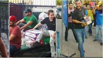 El terremoto une a Calibre 50 y Banda MS, que lanzan una recolecta de víveres en Mazatlán