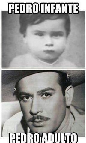 Pedro Infante, Pedro adulto.