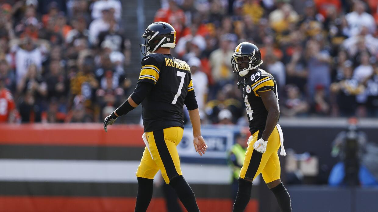 Roethlisberger sobre Antonio Brown