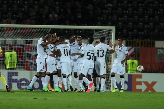 Híper-globalizado: club europeo jugó Europa League sin europeos gettyima...