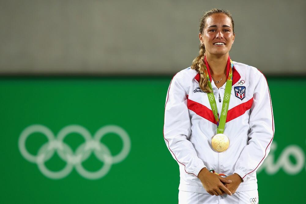 Mónica Puig: la primera medalla de oro olímpica para Puerto RicoCon solo...