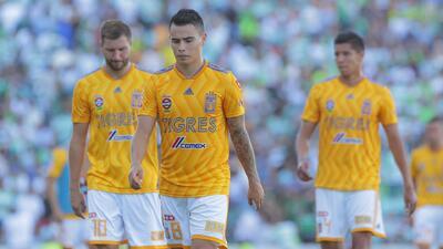 Desde el Clausura 2017, Tigres no perdía tres partidos consecutivos
