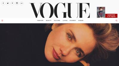 El apoyo de Vogue a Hillary Clinton