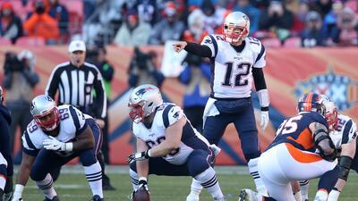 Jugar de visita en Playoffs, el talón de Aquiles de Brady y los Patriots