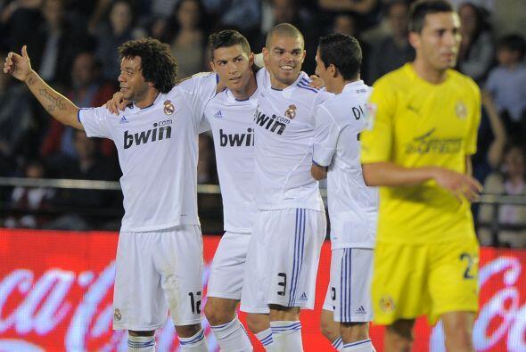Justo en el último minuto, el portugués consiguió su doblete.