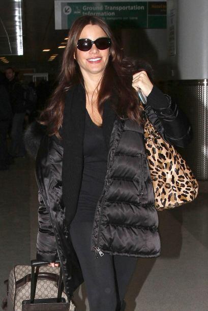 La actriz y modelo colombiana sabe que no hay mejores prendas que las ne...