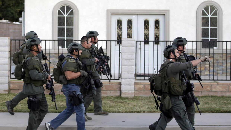 Búsqueda de los sospechosos del ataque en San Bernardino