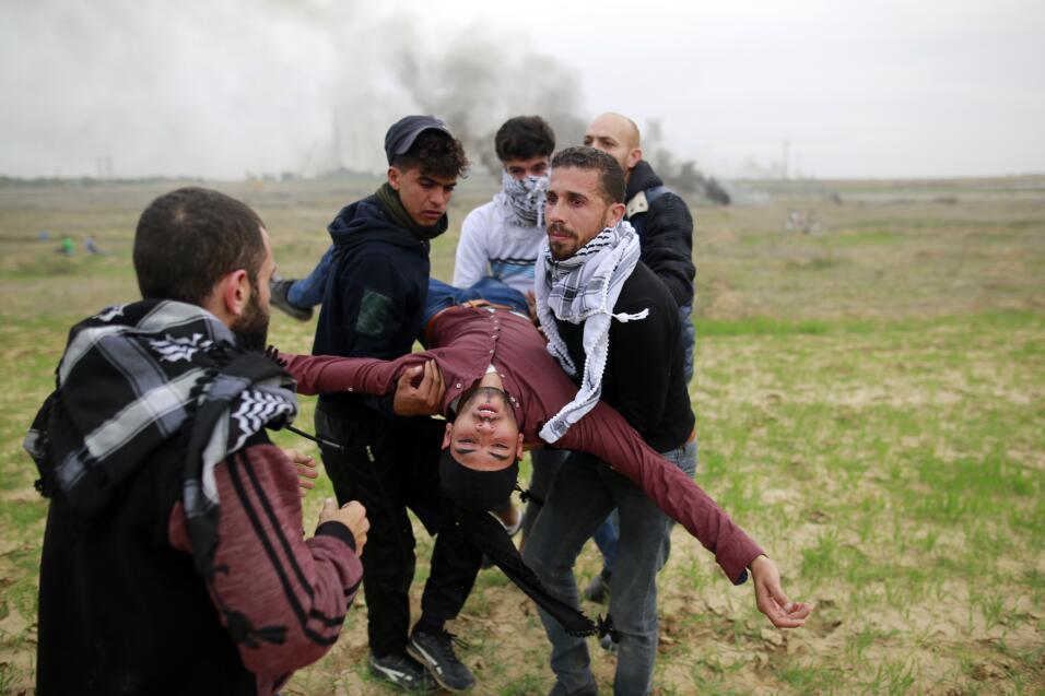 Palestina protesta. La decisión de Donald Trump de mover la embaj...