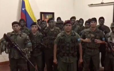El grupo de militares rebeldes estaba liderado por el excapitán de la Gu...