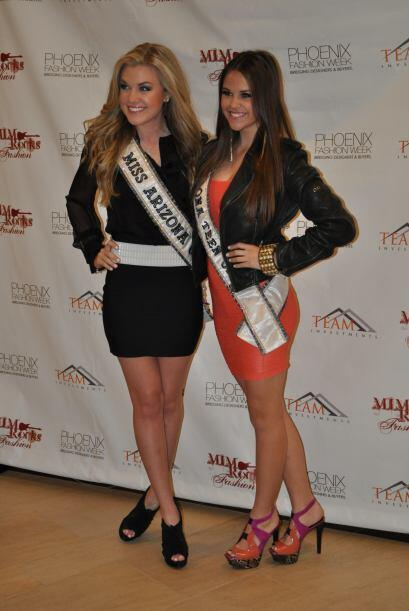 Miss Arizona y Miss Teen Arizona formaron parte de las celebridades que...