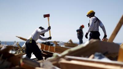 Búsqueda contrarreloj: decenas de personas aún están desaparecidas en la 'zona cero' del huracán Michael