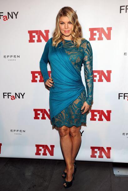 Fergie es de las que siempre quiere pecar de sexy, pero sinceramente, no...
