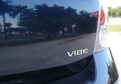 El Vibe es un auto ideal para familias que quieren una opción para sus S...