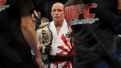 GSP le calló la boca a Nick Díaz y defendió su título
