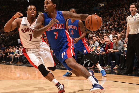 12 de Enero - Pistons (14-24) ganan 114 - 111 a Raptors (25-12).Brandon...
