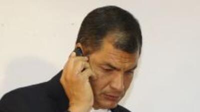 El presidente Rafael Correa decretó estado de emergencia y la evacuación...