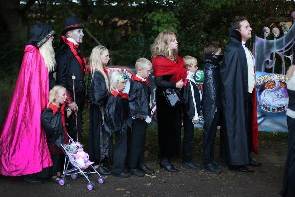 Familias completas decidieron participar y formar parte de este divertid...