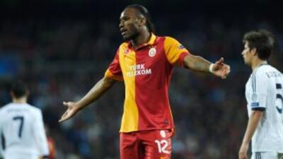 El delantero marfileño espera que el Galatasaray muestre que aprendió la...