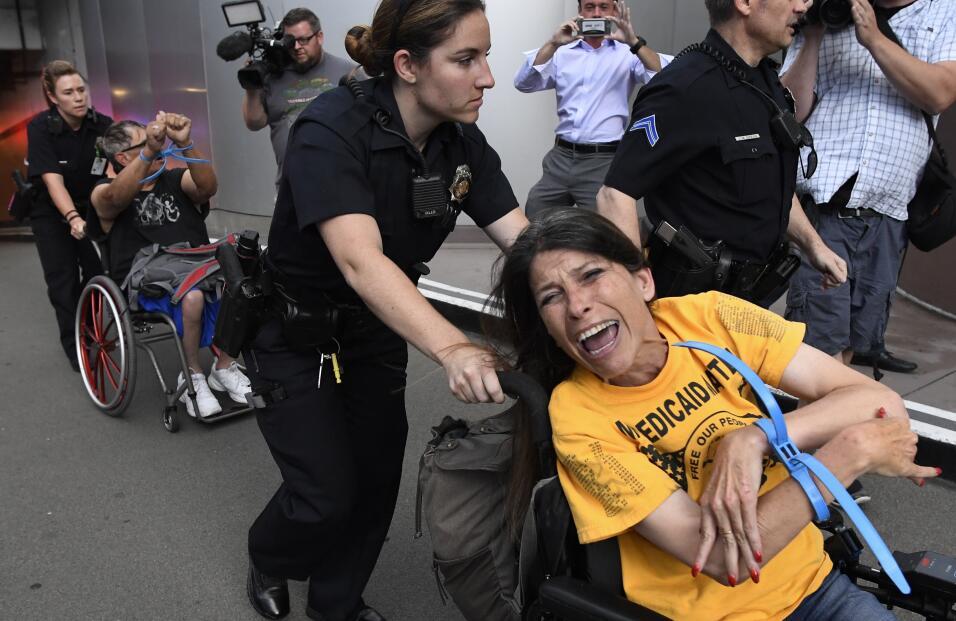 protestas medicaid