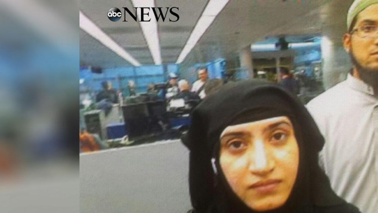 Sospechosos del ataque de San Bernardino en el aeropuerto de Chicago