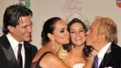 Los jueces de Nuestra Belleza Latina quedaron felices con la nueva reina...