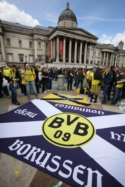 Las calles y símbolos de Londres fueron tomados por los alemanes por un...