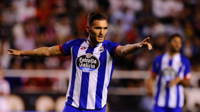 Lucas Pérez iguala el récord de Bebeto anotando en siete juegos seguidos.