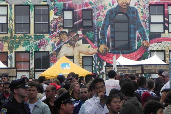 El distrito de la La Mission, en San Francisco,  es el distrito de los m...