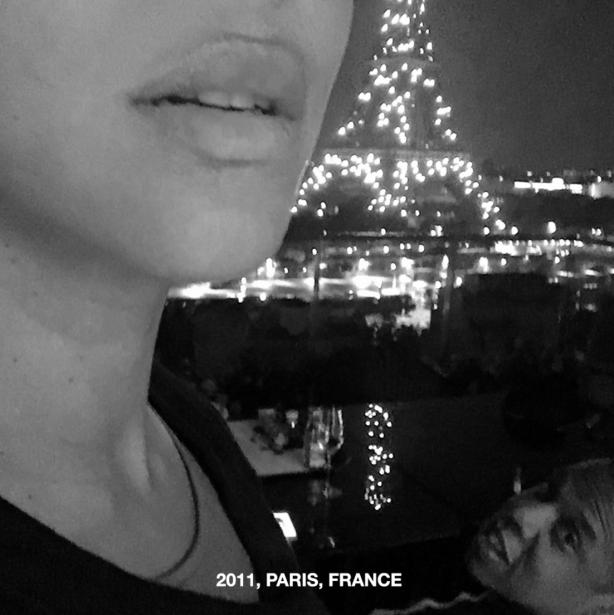 Los Carter en París, en 2011.